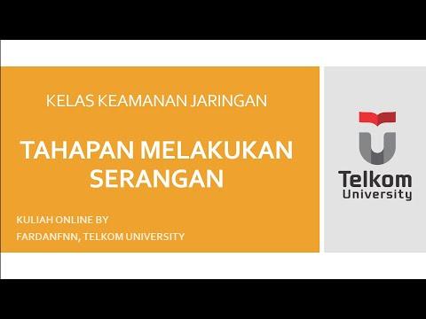 Kuliah Online, Keamanan Jaringan: Tahapan Serangan