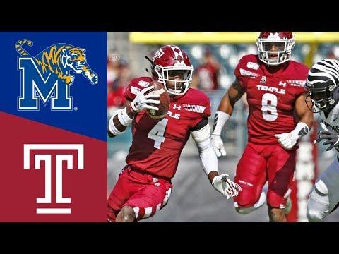 Memphis Vs Temple Highlights | NACCF Week 7 | College Football (2019)