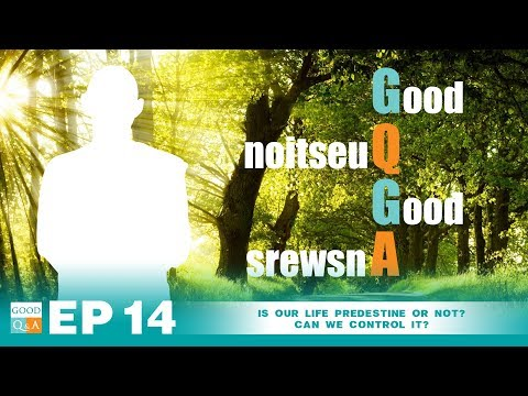Good Q&A Ep 14:  Is our life predestine or not? Can we control it?