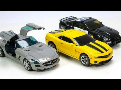 Transformers Movie Bumblebee Barricade Soundwave Vehicles Car Transform Robot Toys