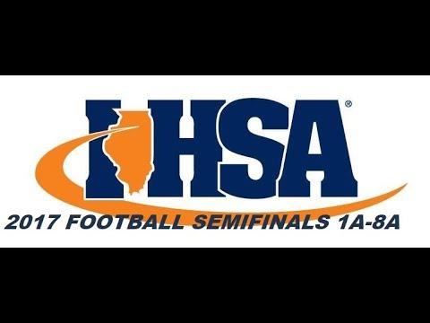 Deepdishfootball.com Coach Big Pete Talks IHSA Playoff Games Semifinals 2017