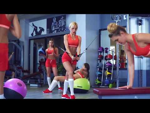 Между Нами тает жир (последняя пародия на Грибы - Тает Лёд) Оригинальная реклама фитнес-клуба