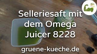 Omega Juicer 8228 Einführung (Teil 14)
