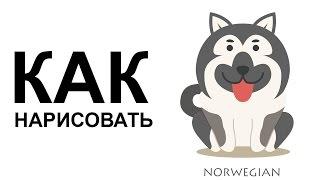 Рисунки собак поэтапно. КАК легко НАРИСОВАТЬ СОБАКУ карандашом(Как нарисовать собаку поэтапно карандашом для начинающих за короткий промежуток времени. http://youtu.be/jliz--tokig..., 2015-06-25T06:46:51.000Z)