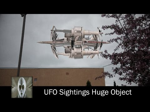 UFO Sightings Huge Unknown Object May 22nd 2017