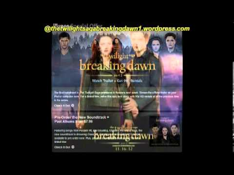 The Twilight Saga Breaking Dawn Pt.2  iTunes Version