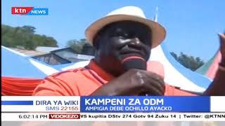 Raila ampigia debe Ochillo Ayacko katika kampeni za Migori