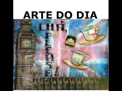 Chá, please! (Tea, please!) - Arte do Dia - VIDEO