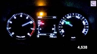 Land Rover Discovery 4 HSE 340 HP Acсeleration 0-100 km/h  (Measured  by Racelogic)