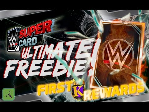MY ULTIMATE FREEBIE & MY FIRST KING OF THE RING REWARDS! : WWE SuperCard S3
