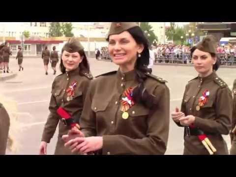 День Победы - 9 мая  - Парад - Липецк - 2019 (The Victory Day - Russia, Lipetsk )