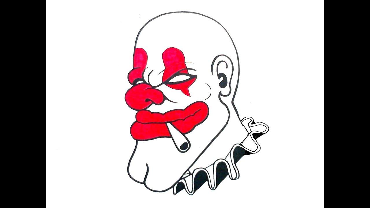 Mi Colleccion de Dibujos de Payasos graffiti _, My Collection of ...