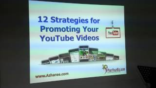 12 Strategies Promoting Your YouTube Video
