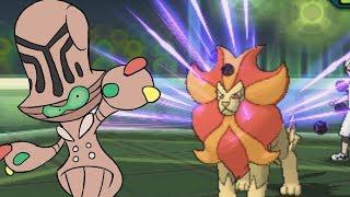 Beheeyem The Monster   Pokemon Ultra Sun & Moon Wifi Battle