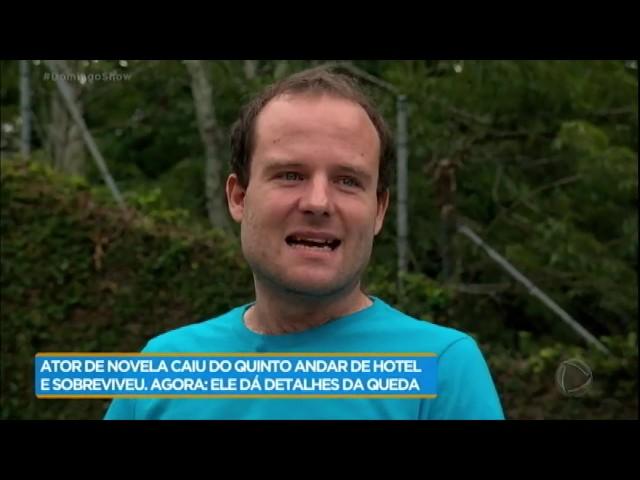 """Vitor Morosini lembra passado com drogas: """"Não foi meu primeiro surto"""""""