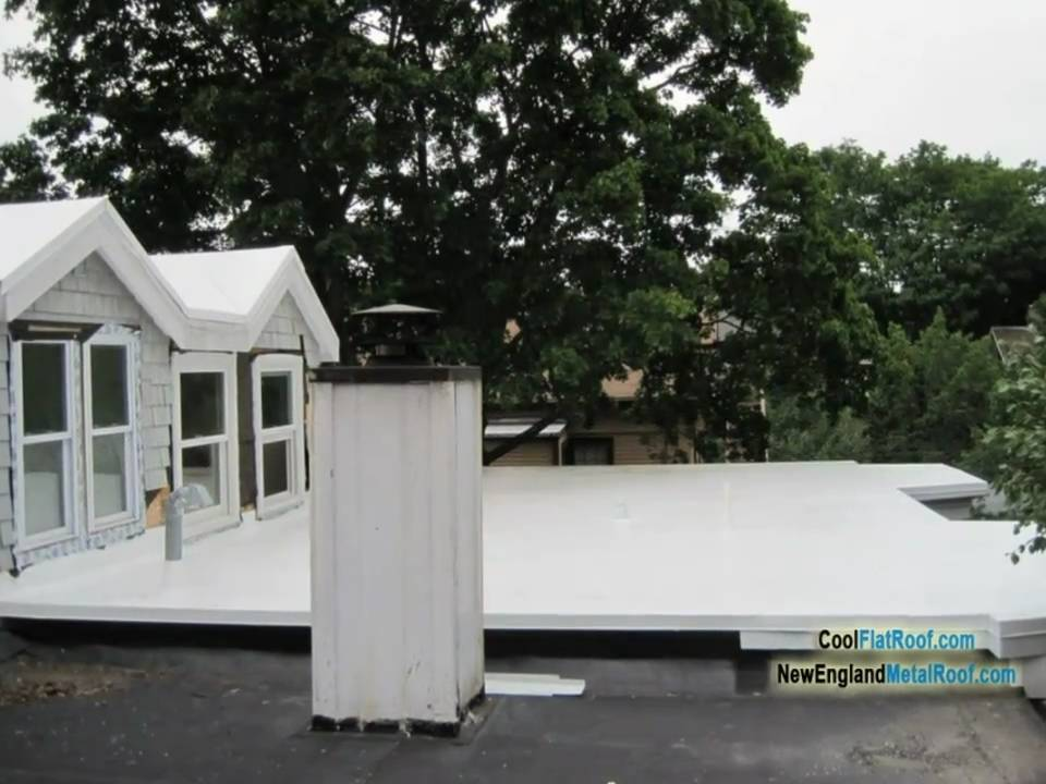 Ib Flat Roof Installаtion With Tapered Iso Insulation