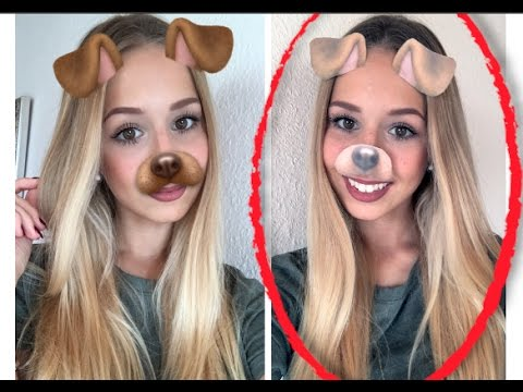 diy snapchat filter hund halloween karneval kost m selbst gemacht youtube. Black Bedroom Furniture Sets. Home Design Ideas