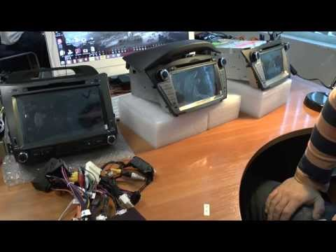Обзор автомагнитол Hyundai IX35 и Kia Sportage R. Все о комплектациях