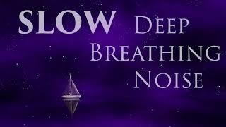 Slow Deep Breathing Brown Noise | Sleep, Relax, Breathe