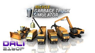 RECYCLE Garbage Truck Simulator PC Gameplay 1080p