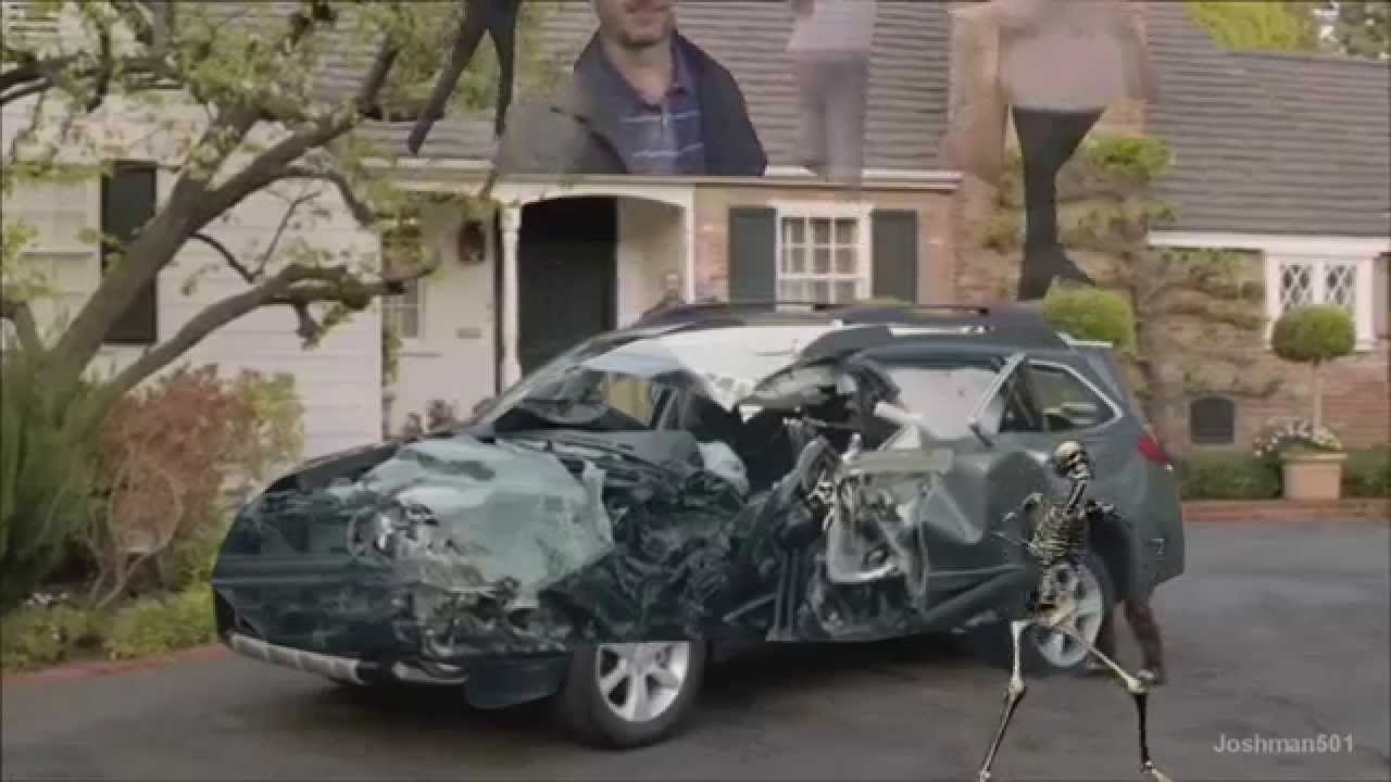 Subaru They Lived Car Crash Ytp Youtube