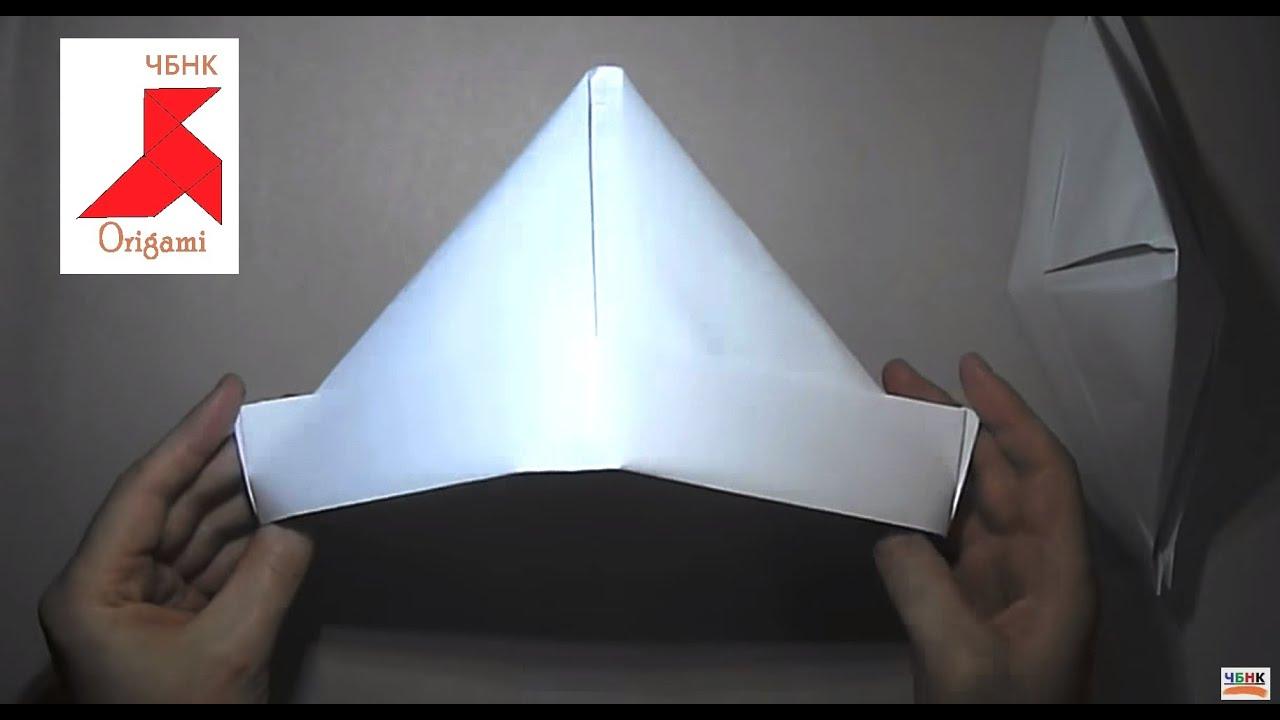 Как сделать оригами шапку