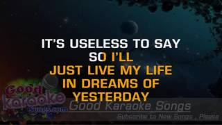 I Can't Stop Loving You - Ray Charles ( Karaoke Lyrics )
