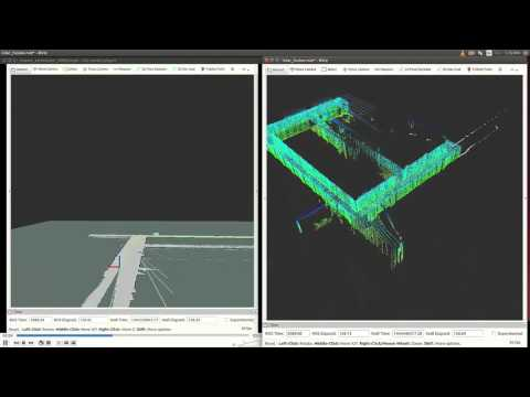 Real-Time LiDAR for 2D/3D SLAM