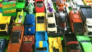 Matchbox Cars & Hot Wheels Toys Collection, Monster Trucks For Children Videos
