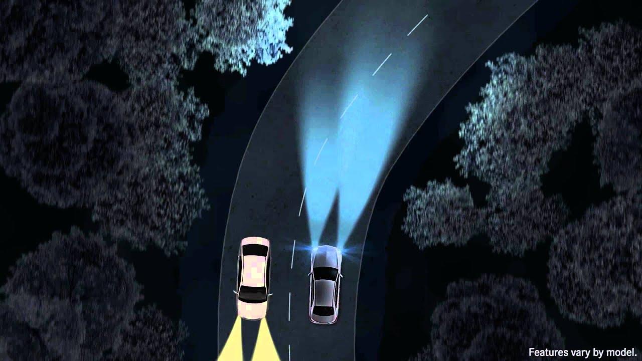 Intelligent Light System / Adaptive Highbeam Assist | Mercedes