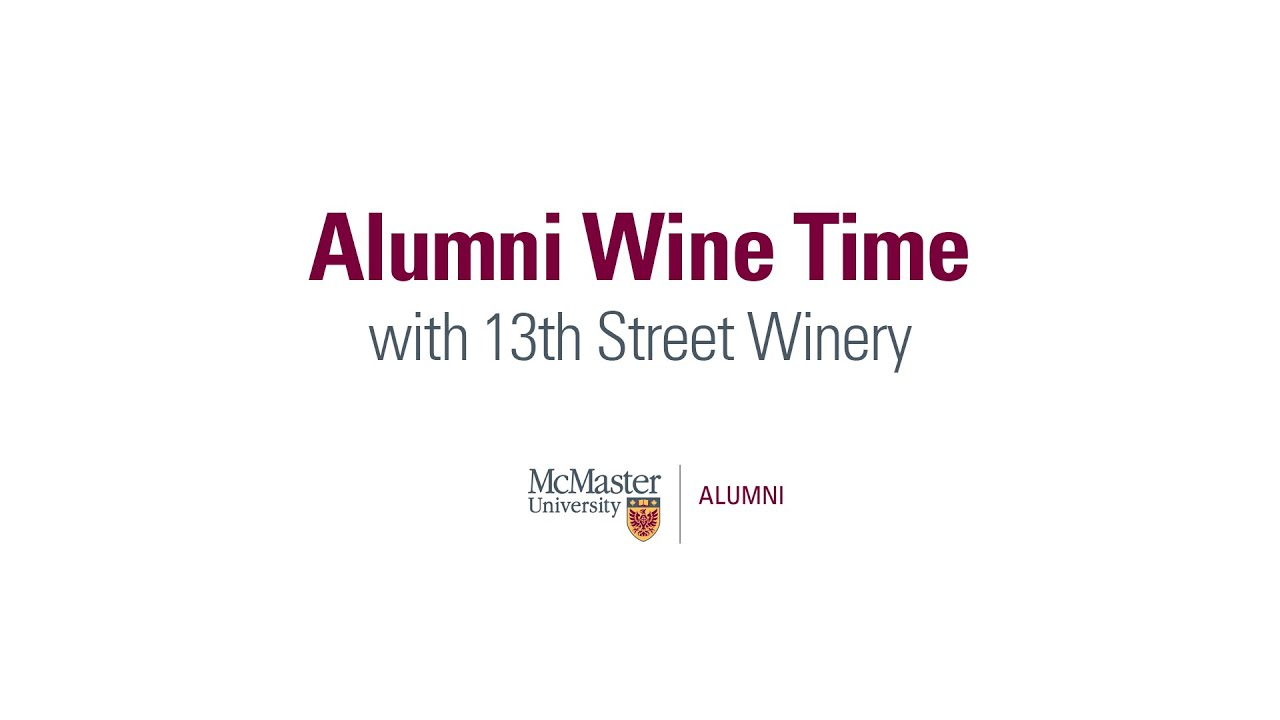 Image for Alumni Wine Time with 13th Street Winery webinar
