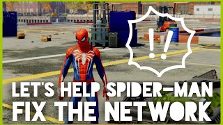 Let's Play A Spider-Man Sidequest : Network Troubles