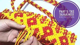 Download Video Part 5. DIY Macrame tote bag, membuat tas tali kur motif kalimantan MP3 3GP MP4