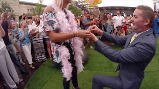 Video Tom & Kari's Surprise Flash Mob Proposal (August 18, 2017) download MP3, 3GP, MP4, WEBM, AVI, FLV Agustus 2018