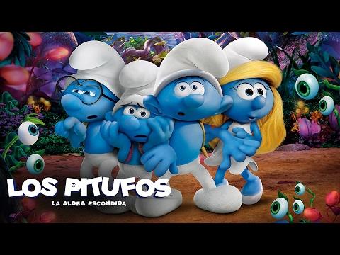 Los pitufos en la aldea escondida ya en cines