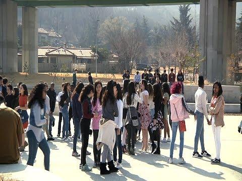 Daegu students participate in walkout