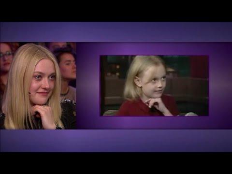 Hilarisch! Dakota Fanning geen haar veranderd - RTL LATE NIGHT