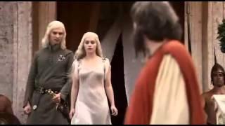Juego De Tronos Daenerys conoce a Drogo