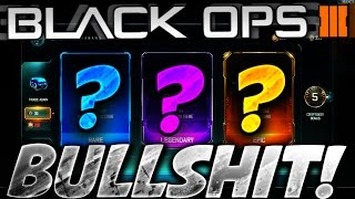 BULLSHIT! - NEW EPIC WEAPON HUNT -BLACK OPS 3 1000+ CRYPTOKEY SUPPLY DROP OPENING (BO3 NEW DLC ITEMS