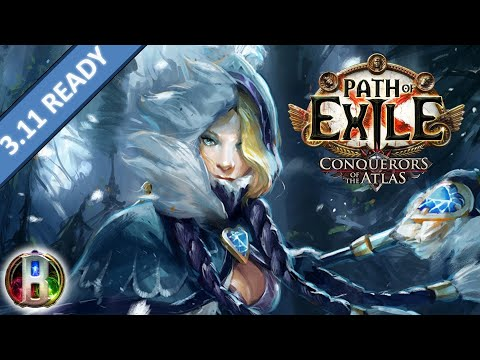 Path of Exile 3 8 Blight: Winter Orb Build – Elementalist Witch
