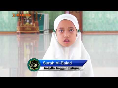 Surah Al-Lail - Surah As-Syams - Surah Al-Balad Suara Merdu Ardylla Anggun Listiara