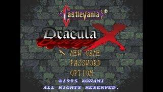 Castlevania : Dracula X - Walkthrough (SNES)