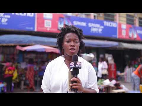 Poor sanitation at the Takoradi market circle