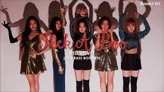 [3D+BASS BOOSTED] RED VELVET (레드벨벳) - PEEK - A - BOO | bumble.bts