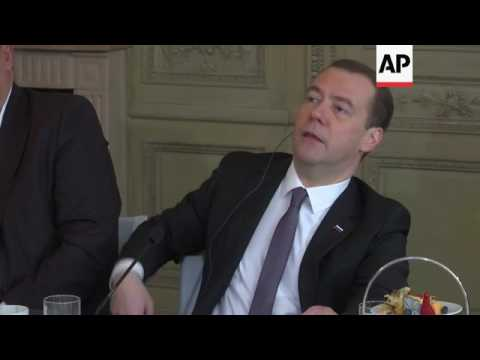 Medvedev: sanctions not having expected effect