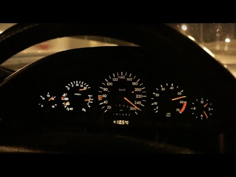 Mercedes-Benz 600SEL 0-250 Km/h Acceleration