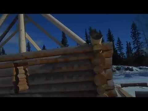 26x26 Log Cabin Kit Alaska