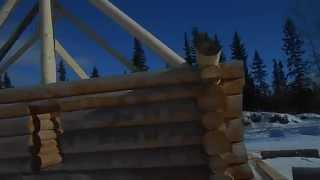 26x26 Log Cabin Kit Alaska