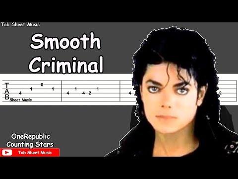 Michael Jackson - Smooth Criminal Guitar Tutorial