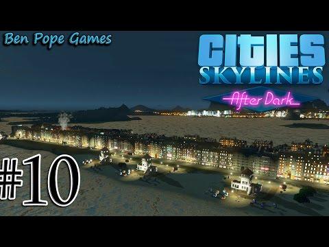 Cities: Skylines - (After Dark) - #10 Long Beach & Zoo